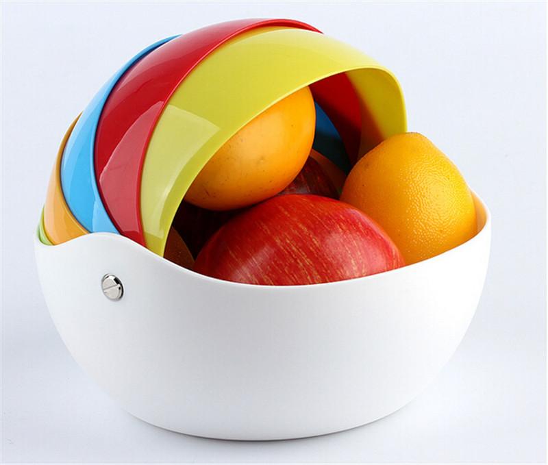 多功能炫彩桌面收纳盒4